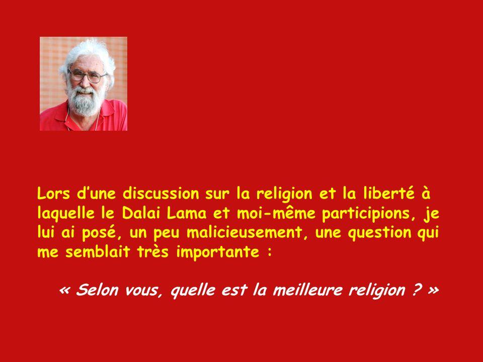 « TA RELIGION NA AUCUNE IMPORTANCE » Bref dialogue entre le théologien brésilien Leonardo Boff, lun des rénovateurs de la Théologie de la Liberté, et