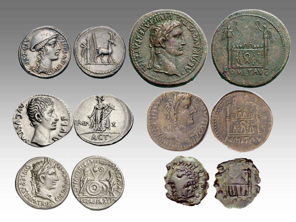 Germanicus : prototype et imitation Image inversée prototype imitation
