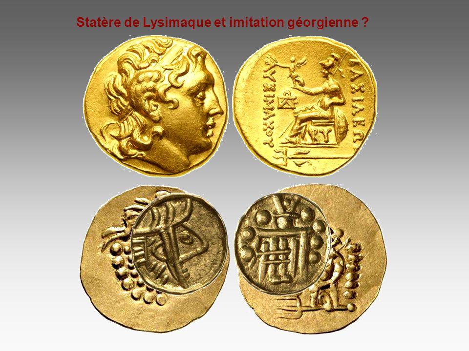 Statère de Lysimaque et imitation géorgienne ?