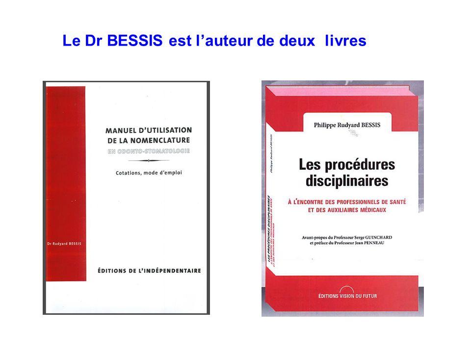 Le Dr BESSIS est lauteur de deux livres