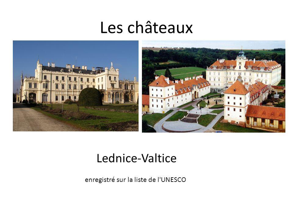 Les châteaux Lednice-Valtice enregistré sur la liste de l'UNESCO