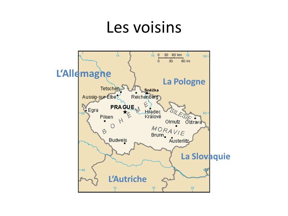 Les voisins LAllemagne La Pologne LAutriche La Slovaquie
