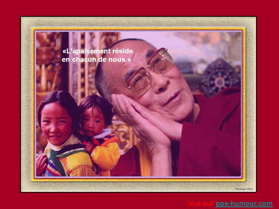 «Atteindre le bonheur authentique exige de transformer à la fois le regard que l'on porte sur le monde et sa manière de penser.» Vue sur pps-humour.co
