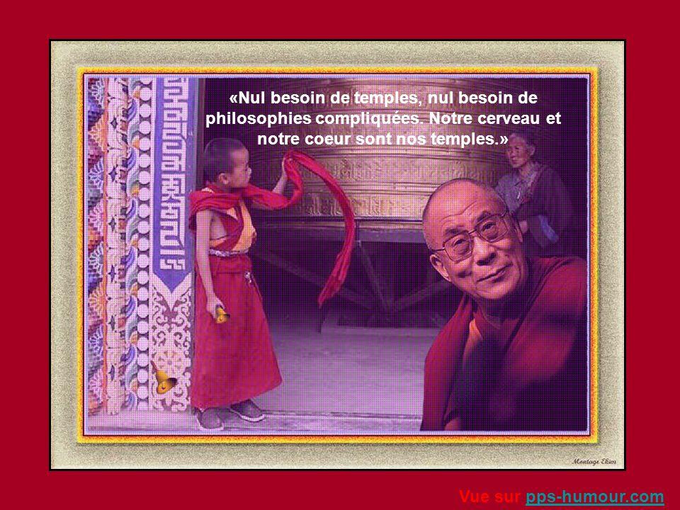 «Le vrai bonheur ne dépend d'aucun être, d'aucun objet extérieur. Il ne dépend que de nous...» Vue sur pps-humour.compps-humour.com