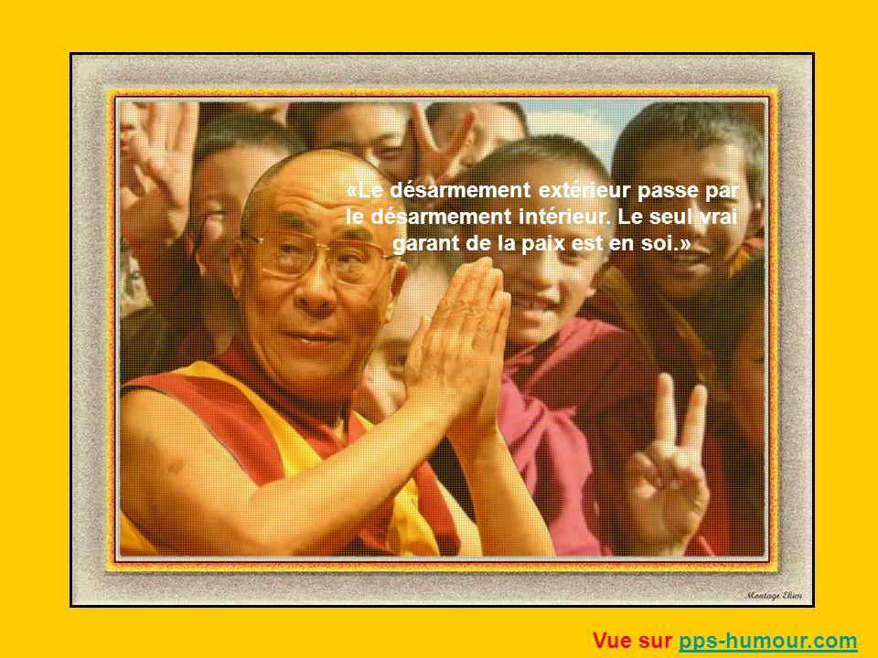 «Le désarmement extérieur passe par le désarmement intérieur.
