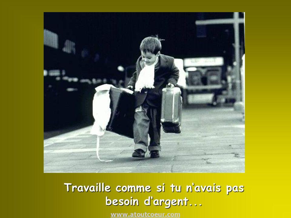 www.atoutcoeur.comAime comme si tu navais jamais été blessé...