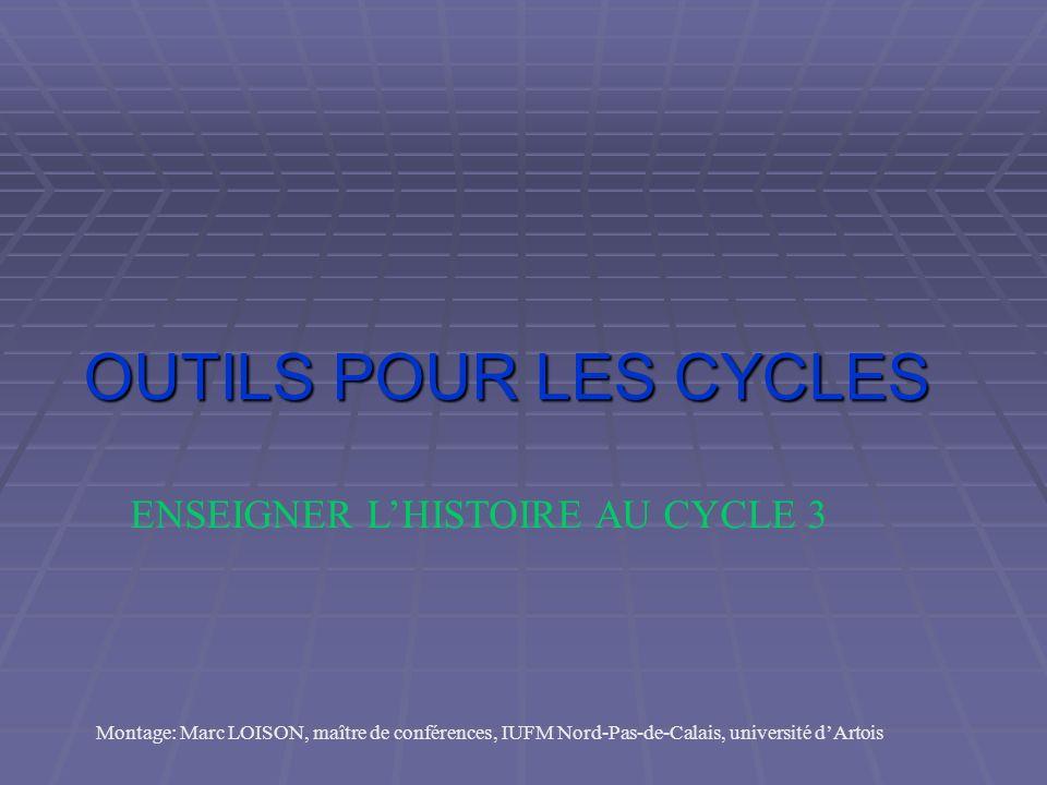 Collection Outils pour les cycles Scéren et CRDP du Nord-Pas-de-Calais Animation autour dune série douvrages consacrés à lenseignement de lhistoire au cycle 3