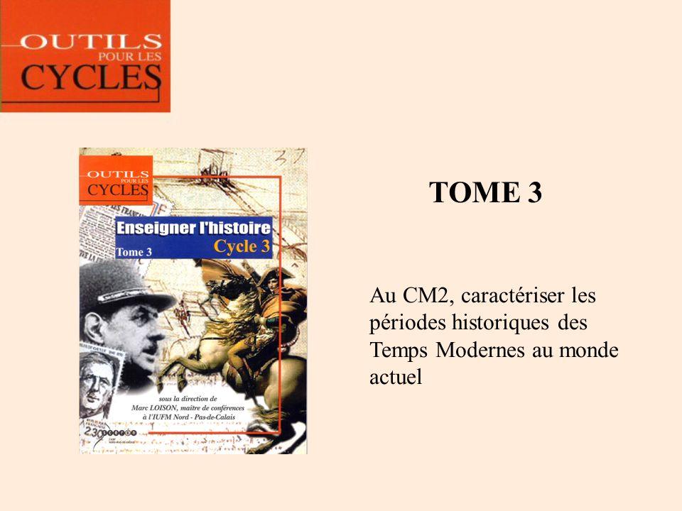4. Les spécificités didactiques et pédagogiques de chaque tome Un extrait de la frise à registres