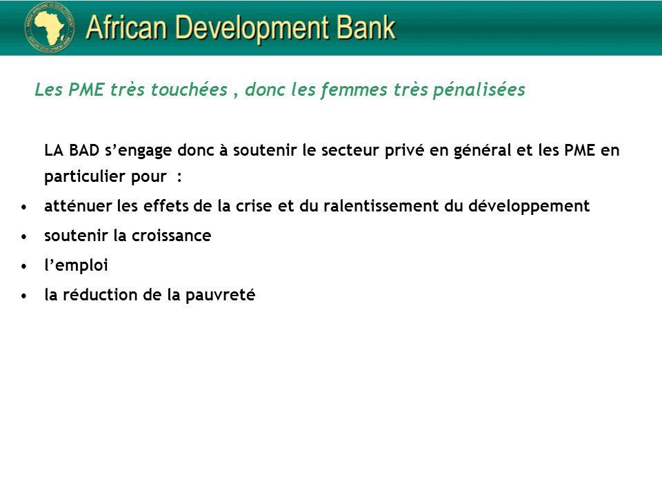 6 Impacts importants sur la microfinance répercussions pour les femmes Difficulté pour obtenir des financements auprès des banques Réduction du capital-investissement disponible : des investisseurs qui prennent moins de risques quand lenvironnement économique est incertain.