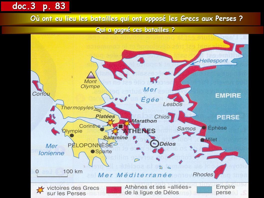 Témoignages sur les batailles de Marathon et Salamine par deux grecs deux grecs Récit de la bataille de Marathon (490 av.