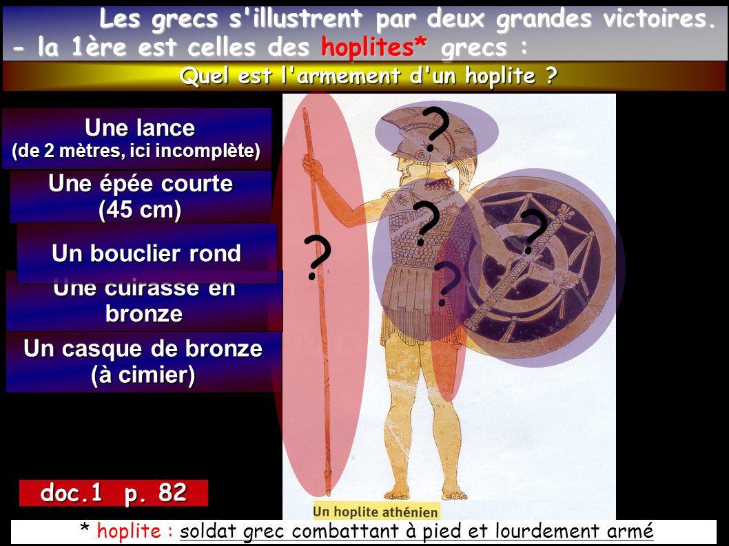 Selon la légende, un soldat athénien courut 42 km jusqu à Athènes afin d annoncer la victoire.