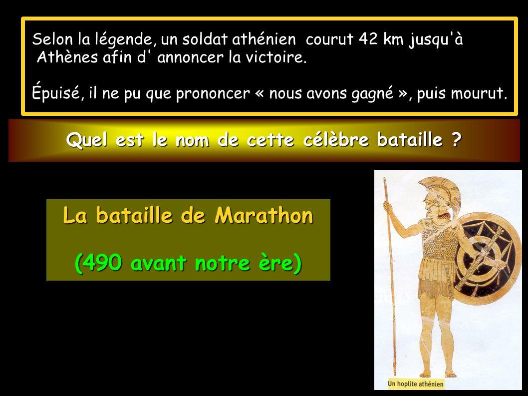 Les grecs s illustrent par deux grandes victoires : Les grecs s illustrent par deux grandes victoires : - la seconde est une victoire navale : SALAMINE en 480 av.