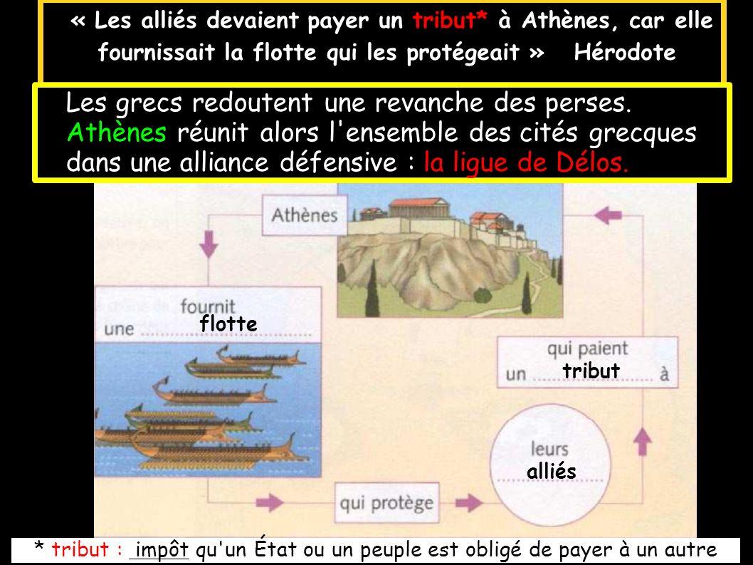 doc.5 p. 83 A quoi sert l argent des cités de la ligue de Délos ? A quoi aurait-il dû servir ?