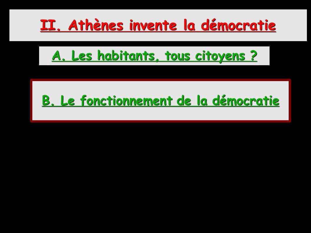 « Je suis lun des 40.000 citoyens dAthènes.