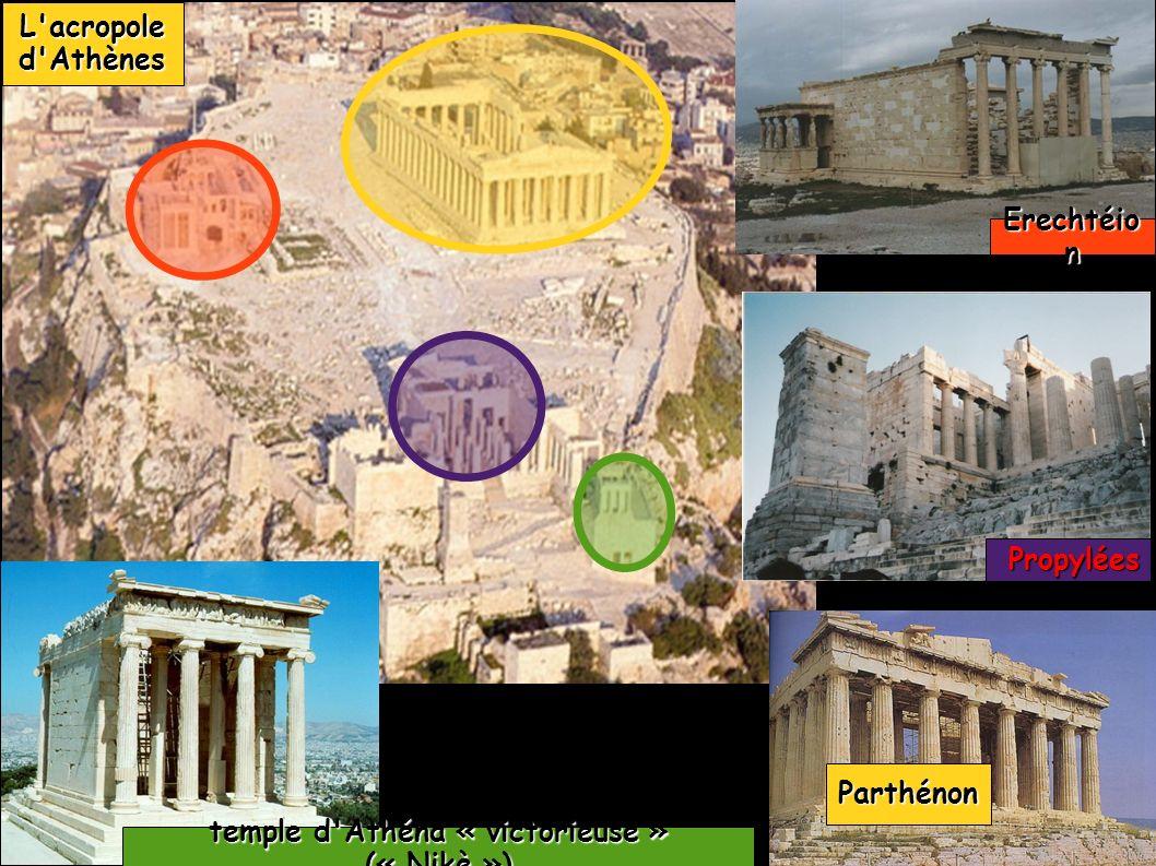 Parthénon reconstitution en 3D du Parthénon