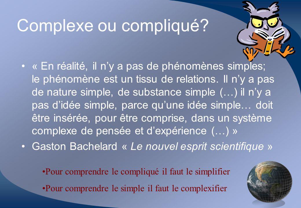 Complexe ou compliqué.