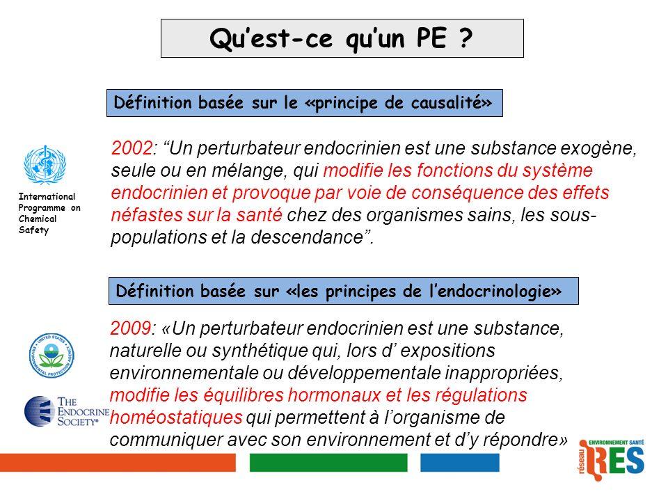 Persistants bio-accumulables (POP) - pesticides/insecticides organochlorés (DDT, HCB): interdits, - dioxines, furanes, benzopyrènes, HAP (combustion, incinération de matières organiques), - PCB: pyralène, lubrifiants, adhésifs, peintures, papiers autocopiants, matériels informatiques.