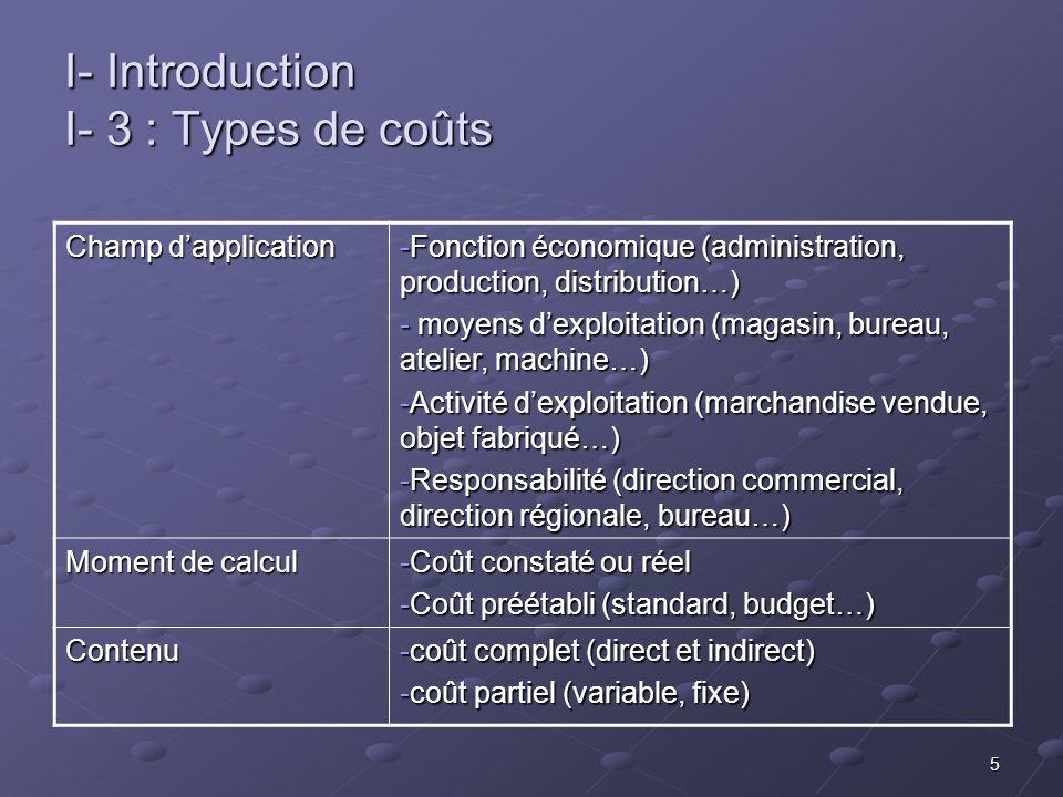 16 III – Lanalyse des coûts partiels III-2: Applications CA = SR MCV = CF CA = SR MCV = CF et MCV / CA = c ste Exemple: Exemple: -le ÇA d une entreprise est 1 000000 -le ÇA d une entreprise est 1 000000 -le CF est 350 000 -le CF est 350 000 -le CV de 600 000 -le CV de 600 000 SR = ?