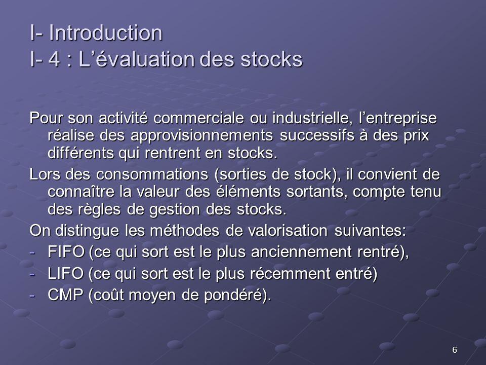 17 III – Lanalyse des coûts partiels III- 2: Applications On peut déduire pour le CA de 1 000 000 : MCV = 1 000 000 - 600 000 = 400 000 MCV = 1 000 000 - 600 000 = 400 000 MCV/CA = 400 000/1 000 000 =0,4 ce rapport est constant Au seuil de rentabilité, le résultat étant nul, on a : CA = SR et MCV = CF cette dernière valeur étant à déterminer Le rapport peut alors s écrire : MCV/CA = CF/SR 0,4= CF/SR = 350 000/SR D où l on déduit la valeur du seuil de rentabilité de cette activité: SR = 350 000/0,4 = 875 000 D où l on déduit la valeur du seuil de rentabilité de cette activité: SR = 350 000/0,4 = 875 000