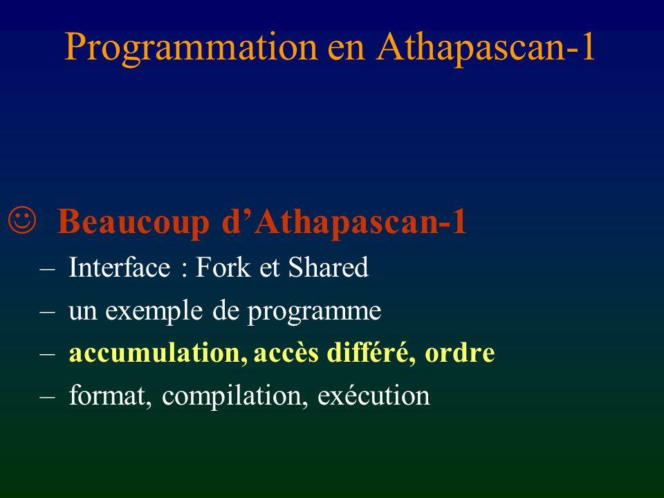 1 sum r/xr/y fib(1) fib(0) sum r/x r fib(1) fib(0) 1 0 sum Analyse dynamique du flot de données fib(3) Terminé Prêt Attente Exécution F(0) = 0, F(1) = 1 F(n) = F(n-1) + F(n-2) sum 1 2 1 01 1 fib(3) = 2 gestion du graphe contrôle de la sémantique [Chap.