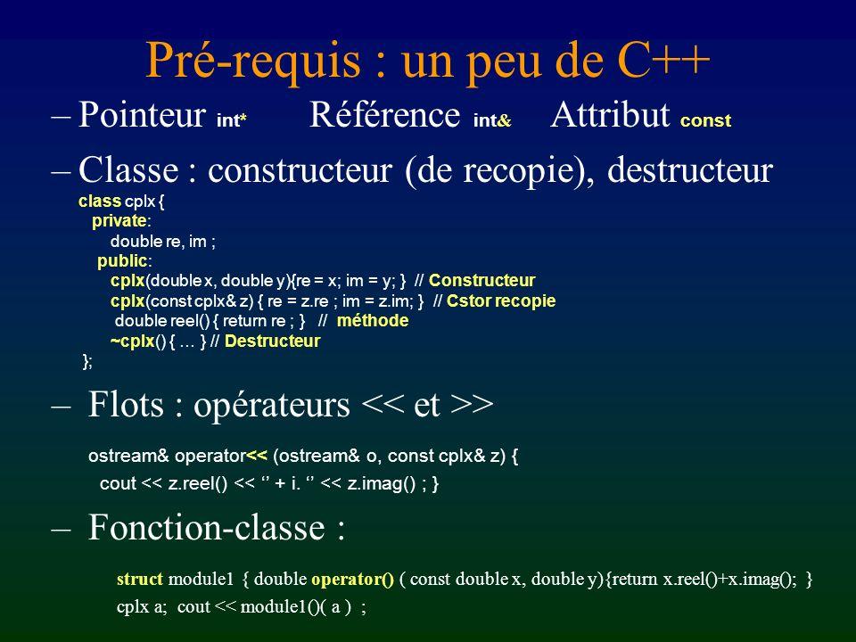 Programmation en Athapascan-1 Pré-requis : un peu de C++ Beaucoup dAthapascan-1 – Interface : Fork et Shared – un exemple de programme – accumulation,