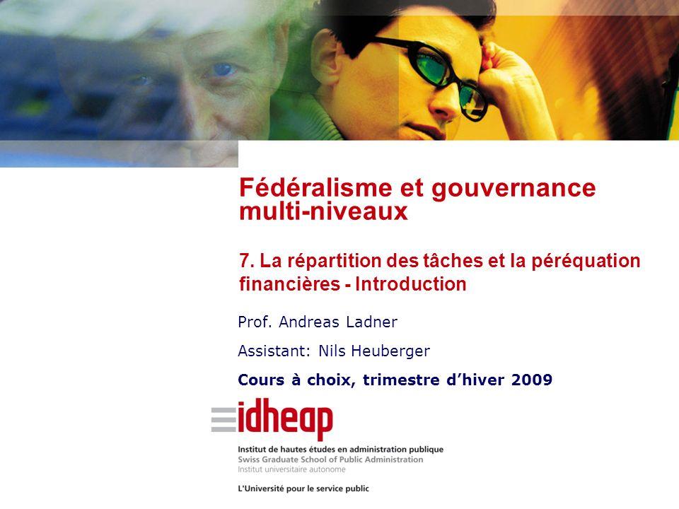 | ©IDHEAP - NOM@idheap.unil.ch | | 04/05/2014 | RPT – cinq instruments Nouvelle péréquation financière (NPF) – péréquation au sens strict –1.