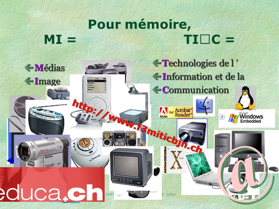 7 V.1.4 23 août 2004F3MITIC BEJUNE 2004/05 J.-F.