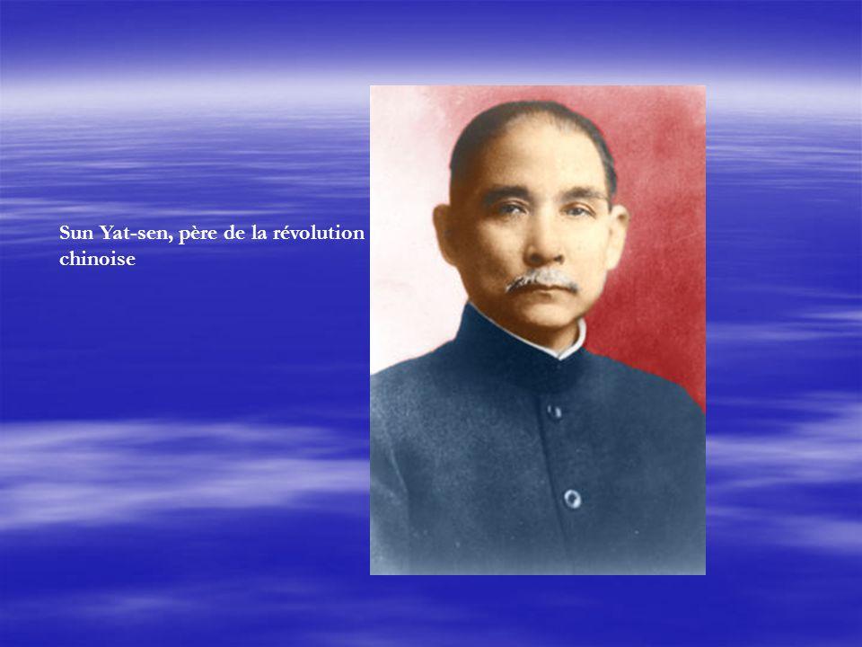 Sun Yat-sen, père de la révolution chinoise