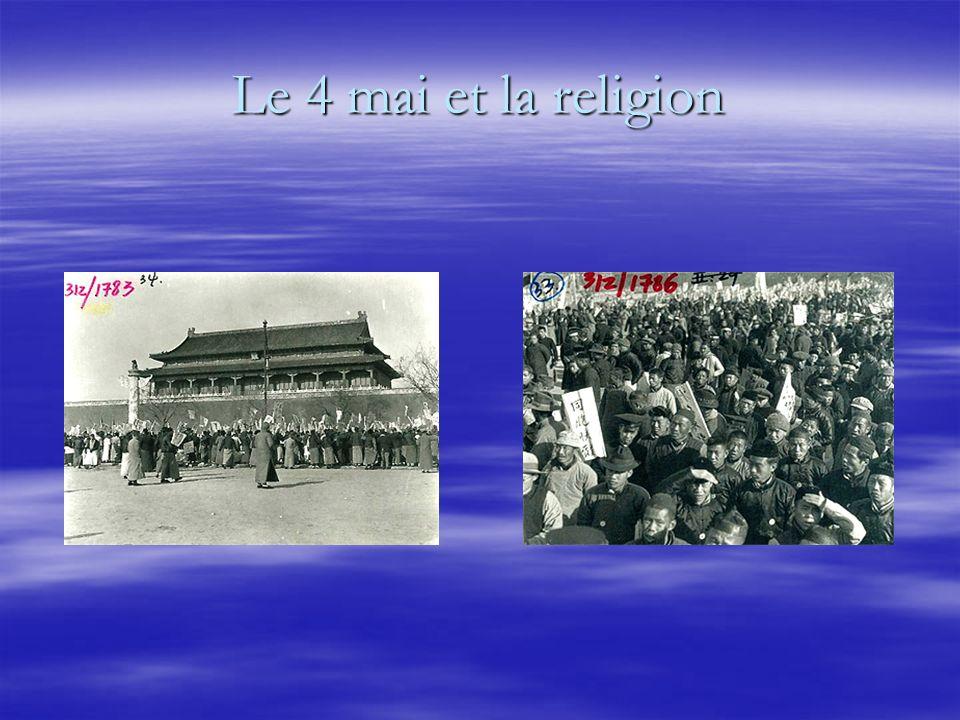 Le 4 mai et la religion