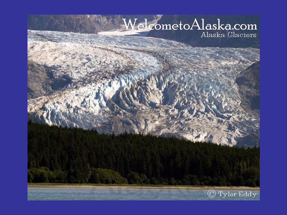 Glacier des très hautes montagnes des régions tropicales.