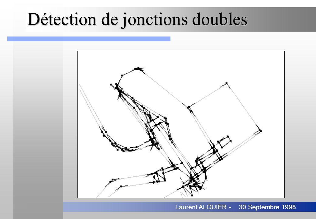 30 Septembre 1998Laurent ALQUIER - Détection de jonctions doubles