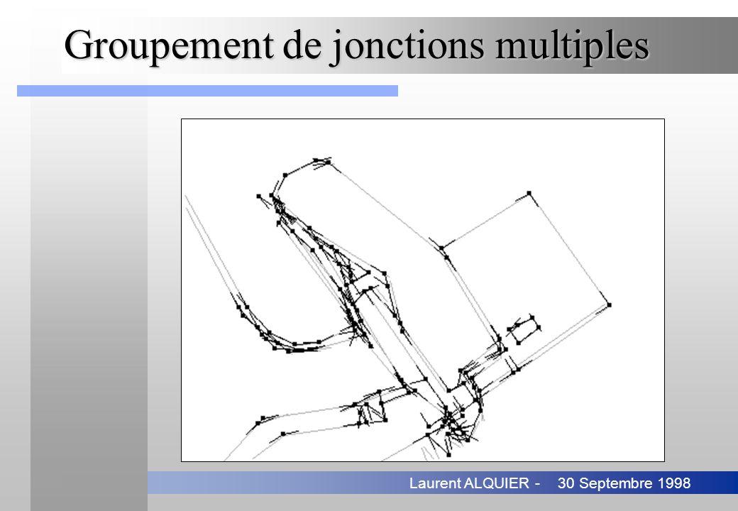30 Septembre 1998Laurent ALQUIER - Groupement de jonctions multiples