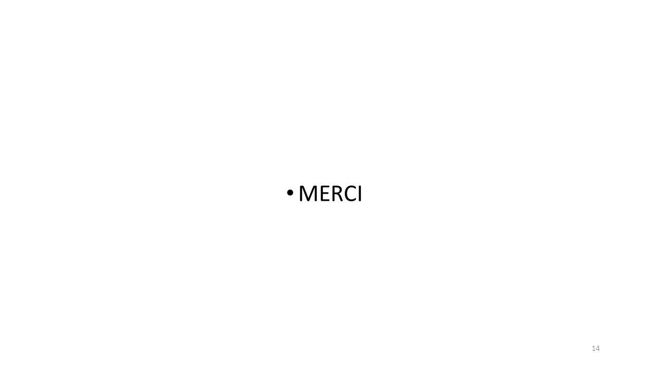 MERCI 14