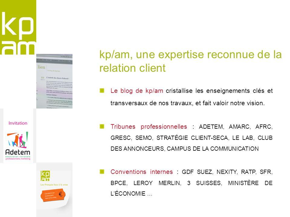 Le blog de kp/am cristallise les enseignements clés et transversaux de nos travaux, et fait valoir notre vision. Tribunes professionnelles : ADETEM, A