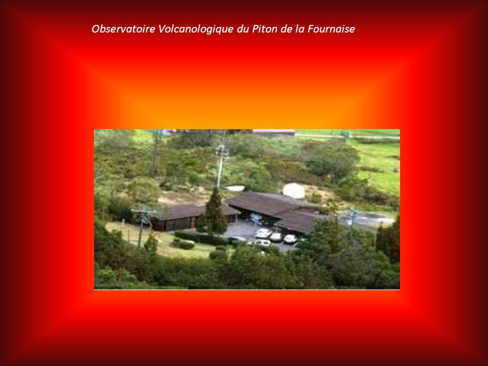 Observatoire Volcanologique du Piton de la Fournaise L'Observatoire Volcanologique du Piton de La Fournaise fait partie de l'Institut de Physique du G