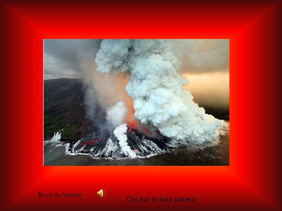 Bruit du Volcan Clic sur le haut parleur