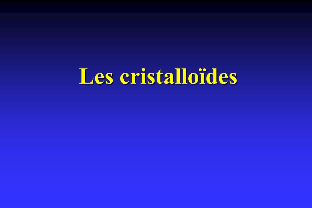 Les cristalloïdes