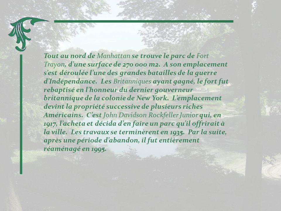 Tout près de Central Park, les jardins de la Collection Frick.
