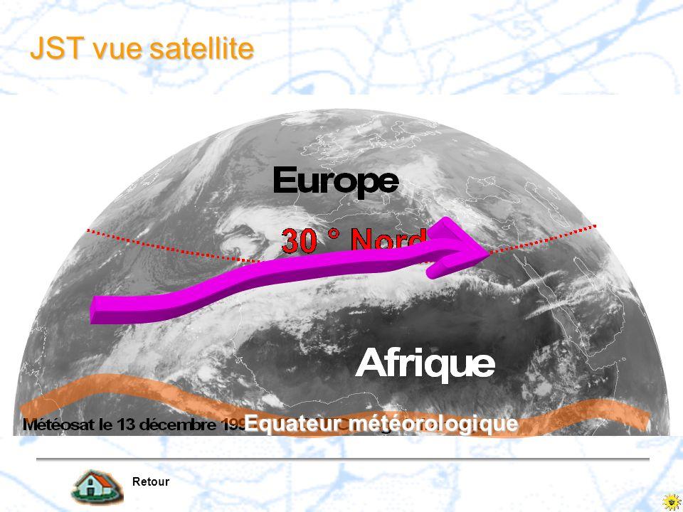 JST vue satellite Retour Equateur météorologique
