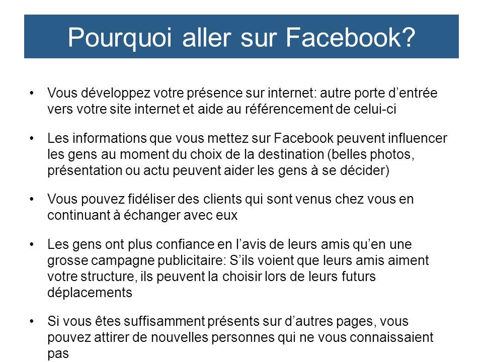 Avez-vous ou pourrez-vous avoir un peu de temps pour travailler sur Facebook.