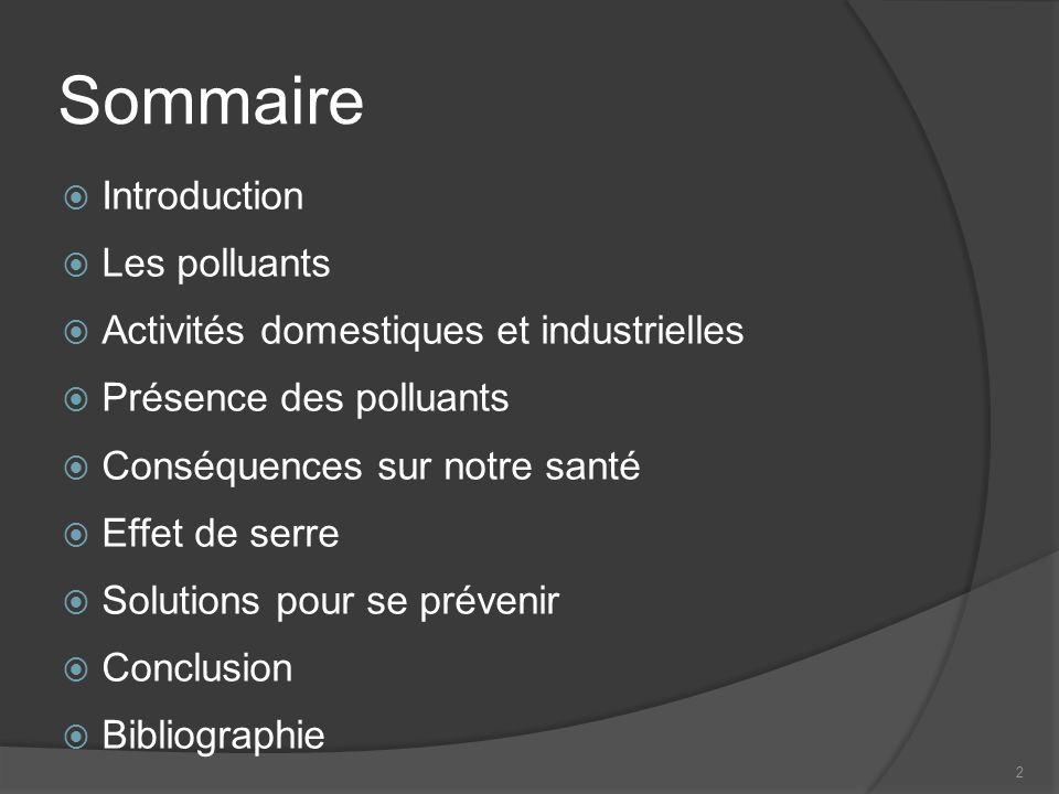3 Introduction: composition de lair