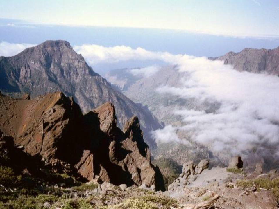 Ile de La Palma Depuis le sommet…