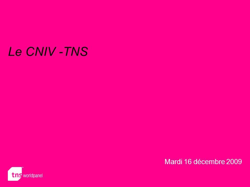 Le CNIV -TNS Mardi 16 décembre 2009
