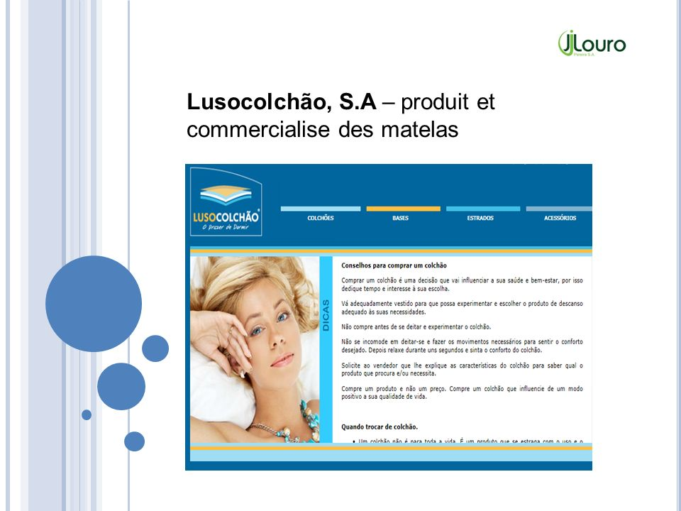 Lusocolchão, S.A – produit et commercialise des matelas