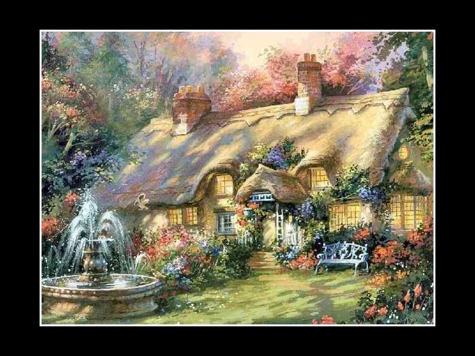 Ce ne serait ni un palace, ni une caverne, ni un cloître ! Une maison simple située à l'orée des bois et des forêts, où nous pourrions nous cacher de