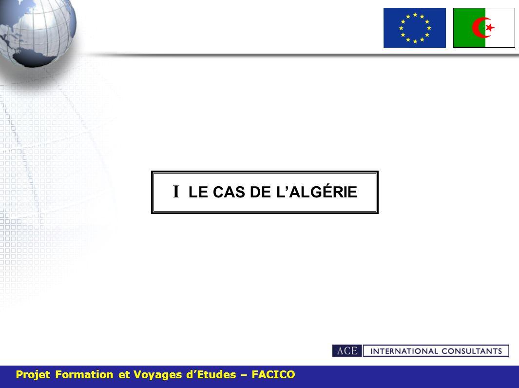 Projet Formation et Voyages dEtudes – FACICO I LE CAS DE LALGÉRIE