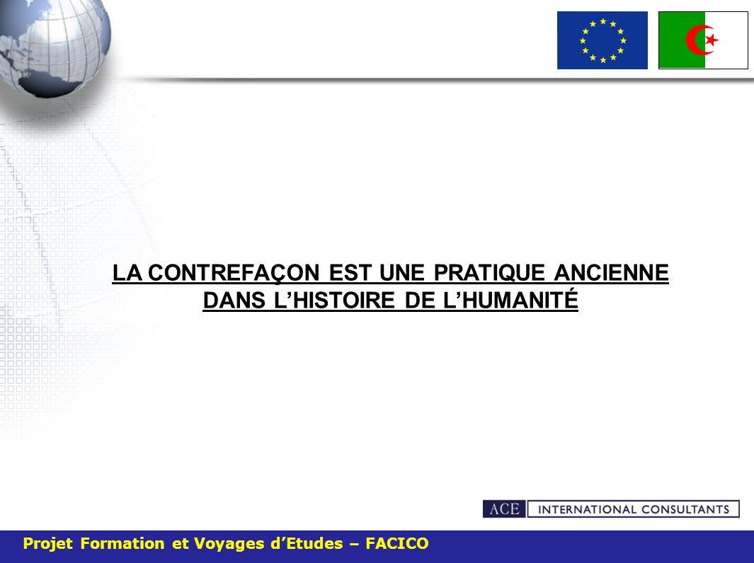 Projet Formation et Voyages dEtudes – FACICO Elle représente entre 7et 10% du commerce international.