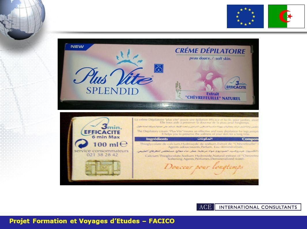 Projet Formation et Voyages dEtudes – FACICO