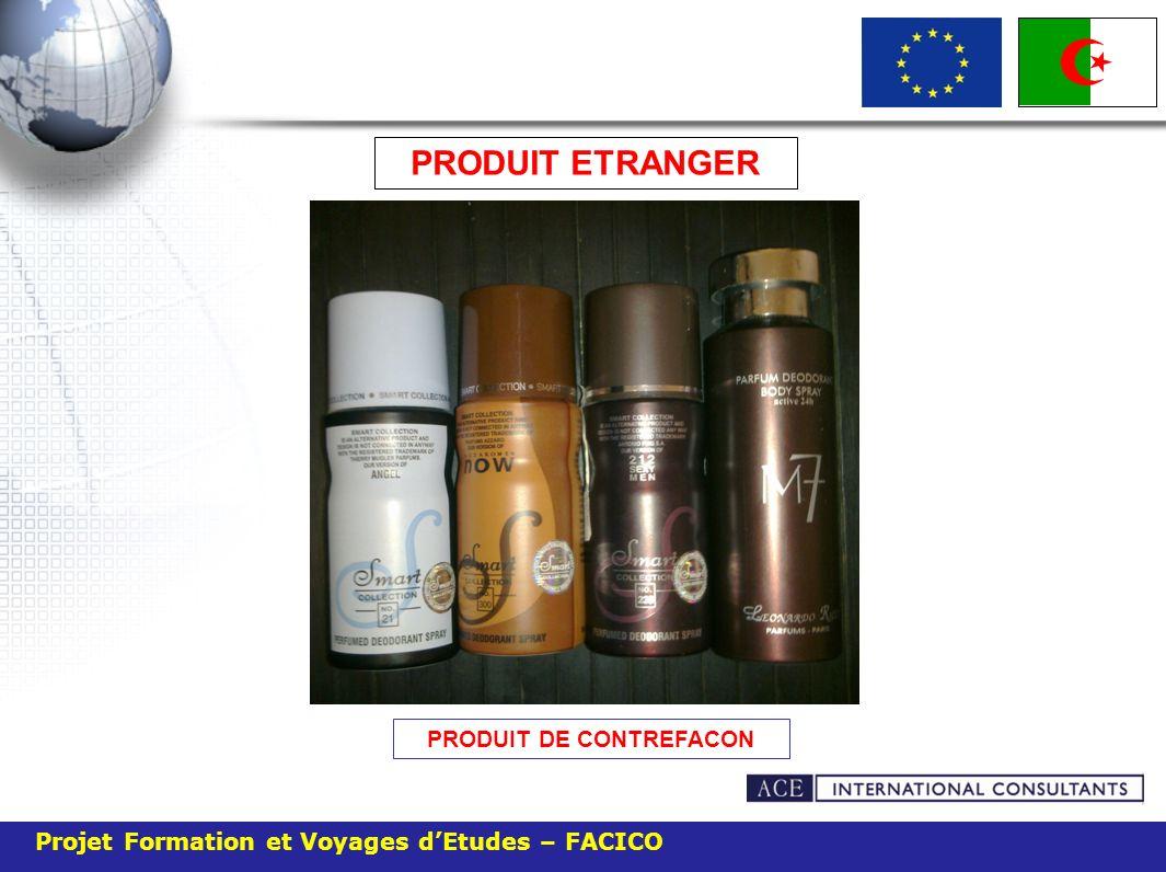 PRODUIT DE CONTREFACON PRODUIT ETRANGER