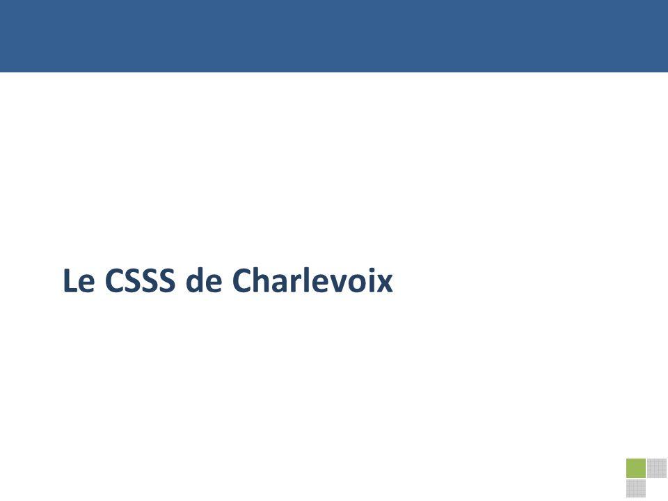 Le CSSS de Charlevoix